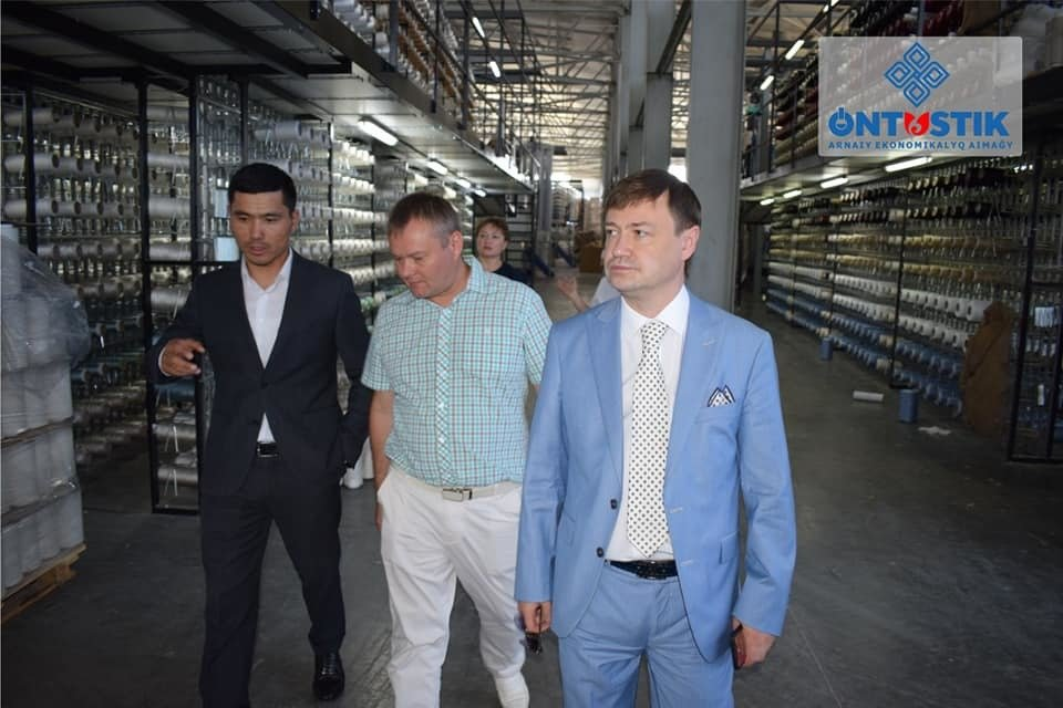 "Representatives of the Corporation ""TechnoNIKOL"" visited the special economic zone ""Ontustik"""