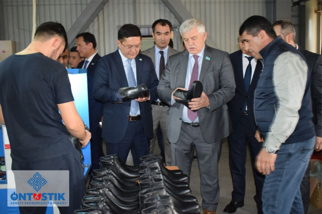 "Deputy Chairman of the Majilis Vladimir Bozhko visited SEZ ""Ontustik"""