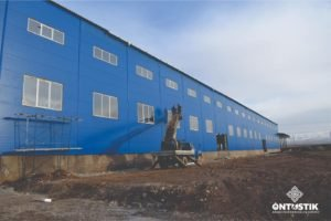 """A factory for the production of craft paper and boxes of the company """"SHYMKENT QAGAZY"""" LLP is under construction on the territory of """"Ontustik"""" SEZ"""